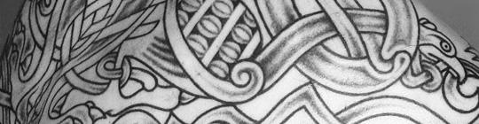 Чёрно-белые татуировки